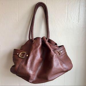 Cole Haan Leather Saddle 'Denney' Bag